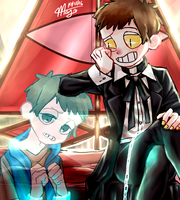 bipper and dipper by AfterAprilIsMay