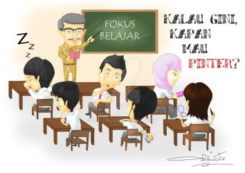 indonesian student by revyali