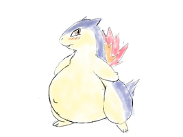 [Stream] Chubby Typhlosion by Alvro