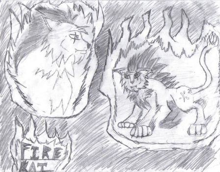 Lion Of Flame: The Remake by VexWolf