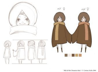 Twins - CHARACTER SHEET by rincharmie