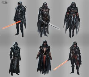 Darth Revan Designs by RAPHTOR