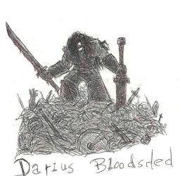 Darius Bloodshed's Rise by TemplarWiegraf