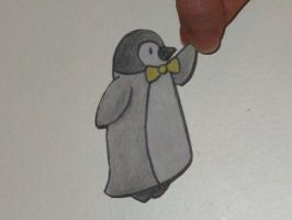 Paper Child- Baby Penguin by OmbroParanojo