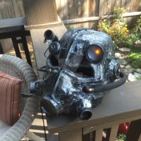 Fallout t-45d Helmet by crimcrimcosplays