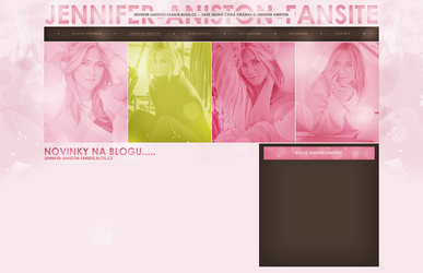 layout ft. Jennifer Aniston by Andie-Mikaelson