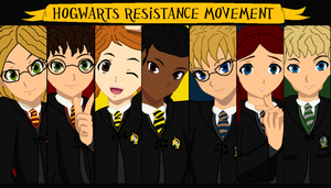 Hogwarts Resistance Movement by airbender01
