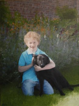 Charles and dog by rorsdors