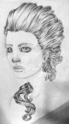 Sadness in her eyes by EmilieDionne