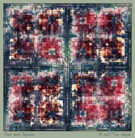 Four More Squares by aartika-fractal-art