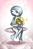 Gardevoir and Whimsicott