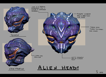 Alien Concept 1 by Shiro-mii