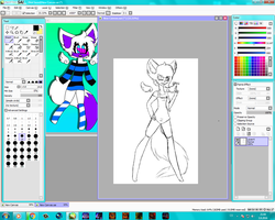 WIP Commission #Mexy by Alexi-i