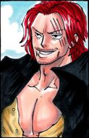 Shanks Badge - Otakon by CoralSnake
