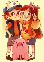 Mystery Twins! by HBLUE