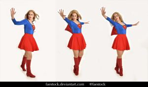 Supergirl  - Stock model reference pack 16 by faestock
