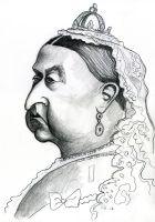 Queen Victoria by Caricature80