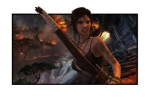 Tomb Raider - Burning Village by ReD8ull