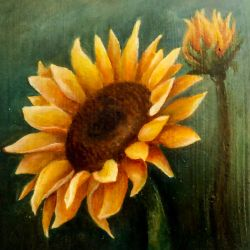Sunflower oilpainting by kvapmo