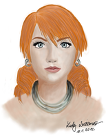 Oerba Dia Vanille portrait by ladylucienne