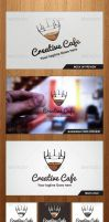 Creative Cafe Logo Template - Graphicriver by Changyik