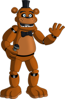 Monster Smash - Freddy Fazbear (Special Guest) by rizegreymon22