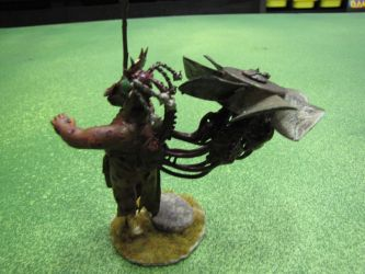 Daemon prince of nurgle rear by namezong
