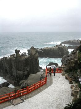 Ocean View at Udo Inari Shrine by Lissou-photography