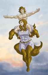 Toric And Lady Might By Hulkdaddyg by ToricTheAmazonRider