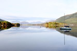 Loch  Leven by MaresaSinclair