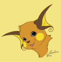 -Pokemon- Raichu by Godspoison