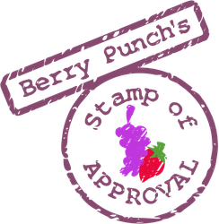 Berry Punch's Stamp Stamp of Approval SVG by tiwake