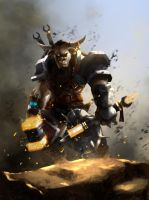 Battle Tauren by HectorBetancur