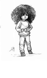 Afternoon kid sketch Study by ArmaniStyles
