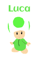 [The Toadlers]: Luca by Spongecat1