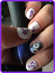 Stamping and Nail Vinyl Test by TheBrandi67
