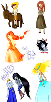 Adventure Time - Doodles by Rumay-Chian
