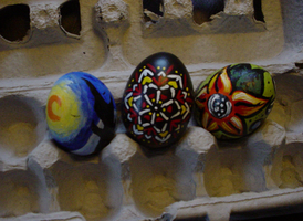Easter Eggs by caitlinwithasea