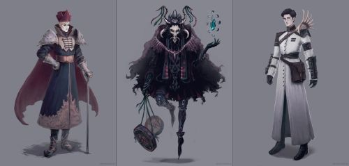 Characters Design Challenge 4 by AdamaSto