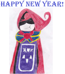 Happy New Year (Red) by Light-He-arth