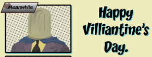 Happy Villiantine's Day Card by CodeAndReload