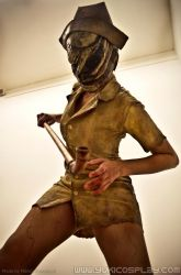 Silent Hill Nurse - Cosplay by Yukilefay