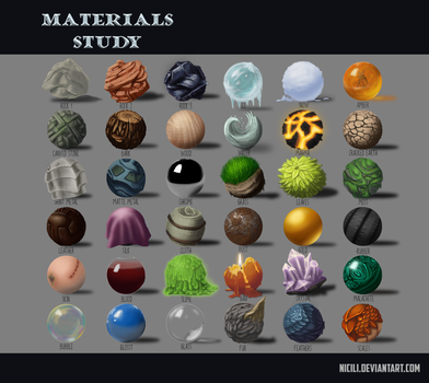 Materials Study by Nicili