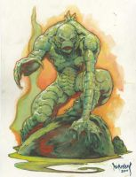 Creature From The Black Lagoon by Dubisch