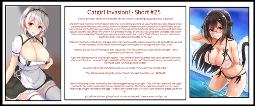 Catgirl Invasion! - Short #25 by QueenNyanlathotep