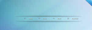 Simple Dock For Rainmeter by Reappearance891030