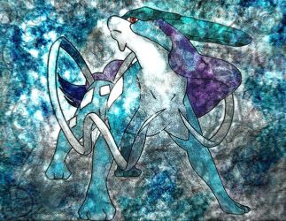 Suicune by Macuarrorro
