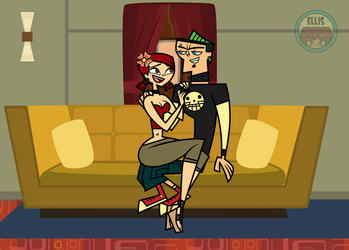 Strange couple: Duncan/Zoey by Mother-of-Trolls