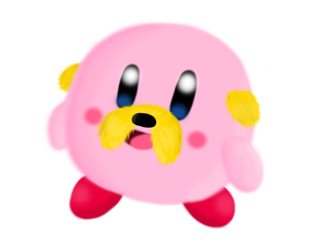 Jake the Kirby by AquaSeashells