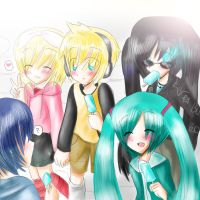 Vocaloid: Its our day off by HimitsuNotebook